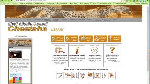 Thumbnail for entry How to Access EMS Ebooks Through Mackin Via
