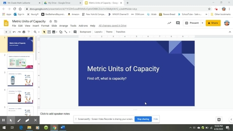Thumbnail for entry Metric Units of Capacity.webm
