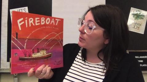 Thumbnail for entry Fireboat - The Heroic Adventures of the John J. Harvey by Maira Kalman
