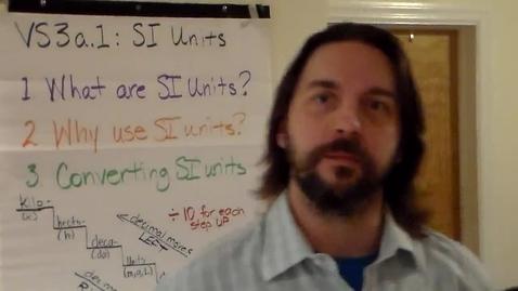 Thumbnail for entry VS3a1 - SI Units