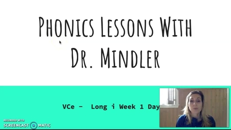 Thumbnail for entry Part 1 VCe i.mp4