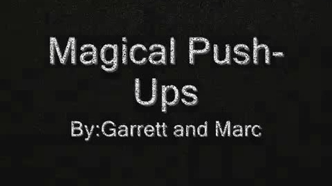 Thumbnail for entry garrettmarcPushUps.wmv