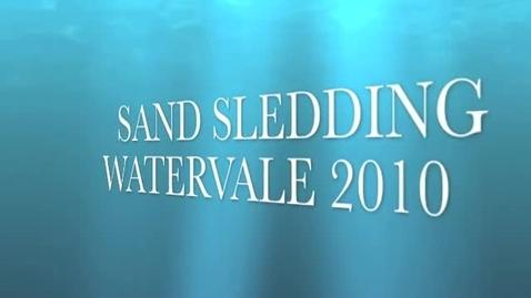 Thumbnail for entry Sand Sledding