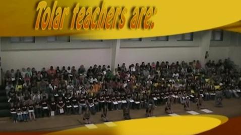 Thumbnail for entry W.R. Tolar Teacher Appreciation Video