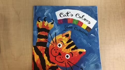 Thumbnail for entry Cat's Colors Read Aloud