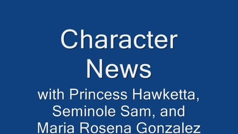Thumbnail for entry Character News March 8, 2010