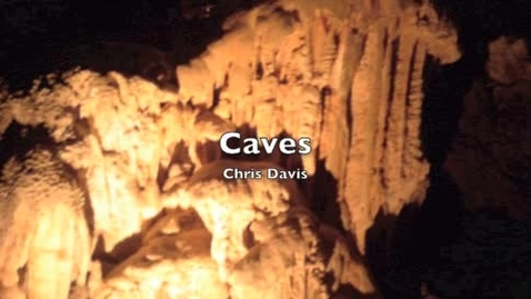 Thumbnail for entry How Caves form