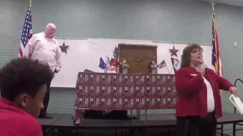 Thumbnail for entry FCCC Veterans Day Guest Speaker