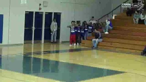 Thumbnail for entry Burlington High School Steppers 12-17-09