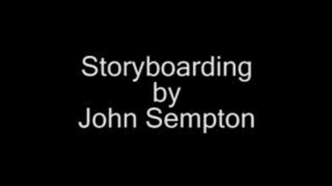 Thumbnail for entry Storyboarding for Film and TV