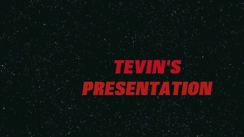 Thumbnail for entry Tevin Final Young Writers' camp presentation