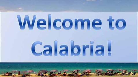 Thumbnail for entry Welcome to Calambria