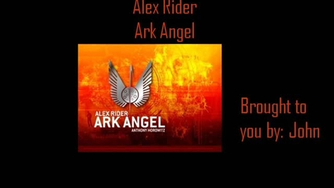 Thumbnail for entry Alex Rider: Ark Angel Book Trailer
