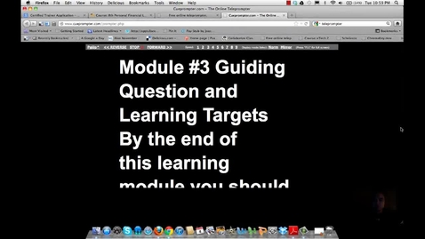 Thumbnail for entry module 3 Guiding Questions