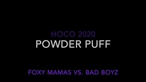 Thumbnail for entry WHS Hoco Powder Puff Football