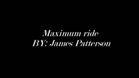 Thumbnail for entry Maximum RIde book trailer