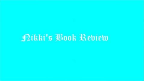 Thumbnail for entry 15-16 Liville Nkki's Book Reveiw