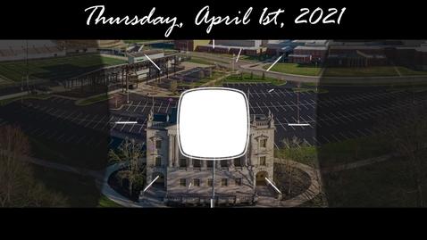 Thumbnail for entry WSCN - Thursday, April 1st, 2021