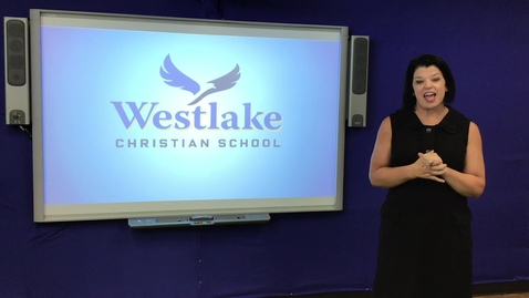 Thumbnail for entry WESTLAKE ELEMENTARY SCHOOL CHAPEL 5/15