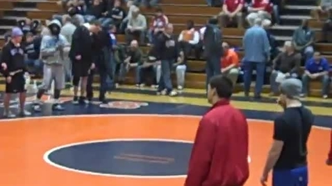 Thumbnail for entry Wrestling Sectionals Pontiac 2011 10