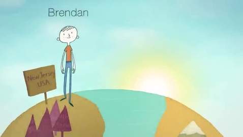 Thumbnail for entry PenPal News - an online exchange program for middle and high schoolers