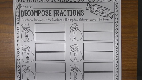 Thumbnail for entry Decomposing Fractions Independent Instructions