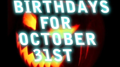 Thumbnail for entry My Birthday Video