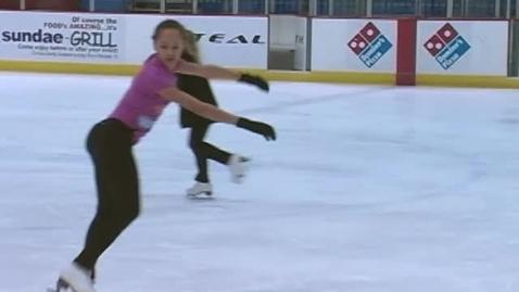 Thumbnail for entry Sandusky Middle's Figure Skating Champ