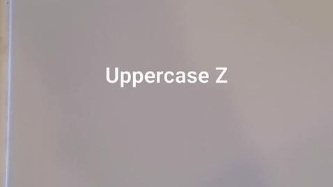 Thumbnail for entry Uppercase Z