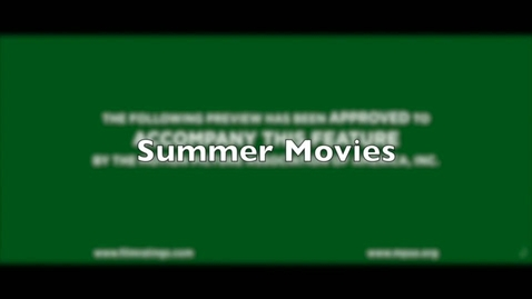 Thumbnail for entry Summer Blockbusters