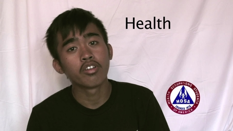Thumbnail for entry JCHS Health Occupations Students of America promotional Video