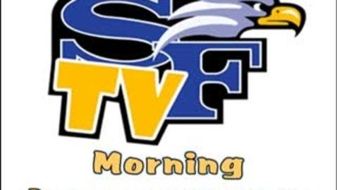 Thumbnail for entry SFTV Morning Announcements - September 17, 2010