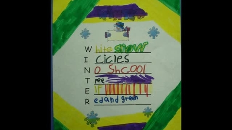 Thumbnail for entry AST Winter Acrostic