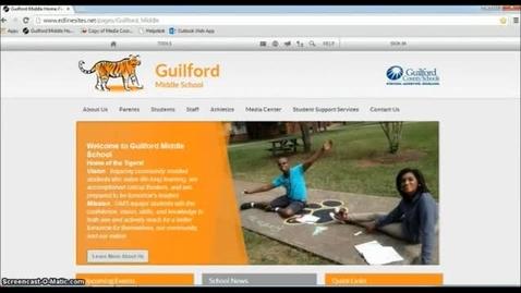 Thumbnail for entry GMS Website Training