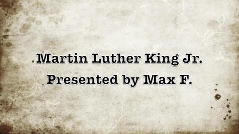 Thumbnail for entry MLK Jr.