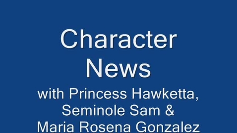 Thumbnail for entry Character News March 1, 2010