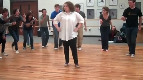 Thumbnail for entry Anything Goes Rehearsal