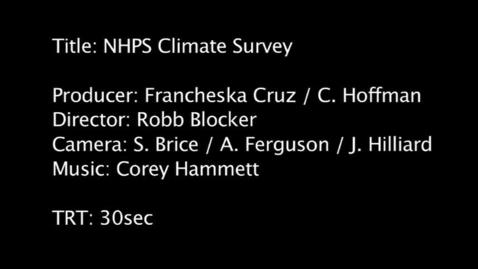 Thumbnail for entry NHPS School Survey