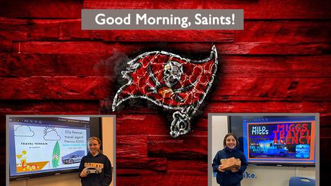 Thumbnail for entry Saints @ 8 - February 1, 2021