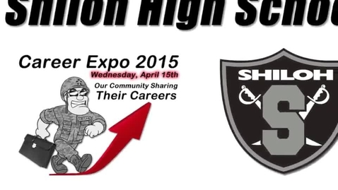 Thumbnail for entry Career Fair 2015 Shiloh High School