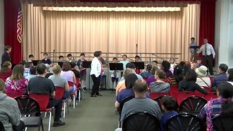 Thumbnail for entry Parker Elementary Spring Concert 2019