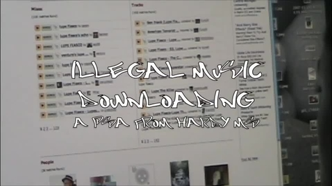 Thumbnail for entry Illegal Downloading
