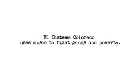 Thumbnail for entry El Sistema Colorado