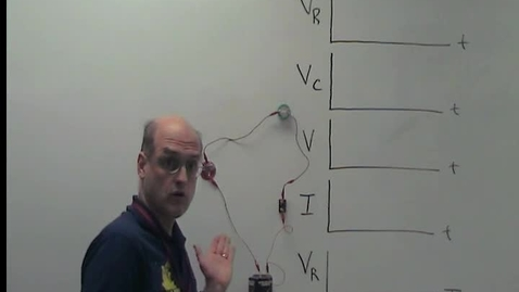 Thumbnail for entry Charging and Discharging a Capacitor w/graphs
