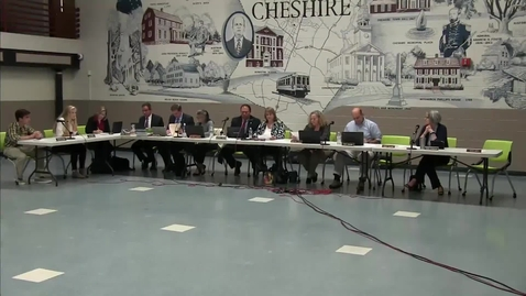 Thumbnail for entry Cheshire Board of Education 10-20-16