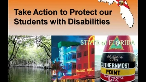 Thumbnail for entry Proposals May Harm Students with Disabilities on School Grades in Florida