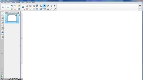 Thumbnail for entry SMART Notebook 11- Toolbar