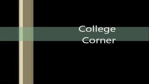 Thumbnail for entry Tatum HIgh School College Corner