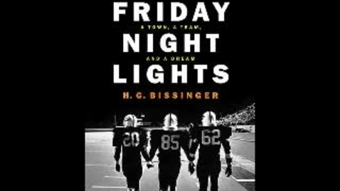 Thumbnail for entry Friday Night Lights
