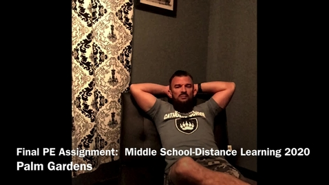 Thumbnail for entry Middle School: Final assignment Instruction.mov